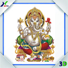 Plastic home decoration 3d hindu god picture 3d wall picture