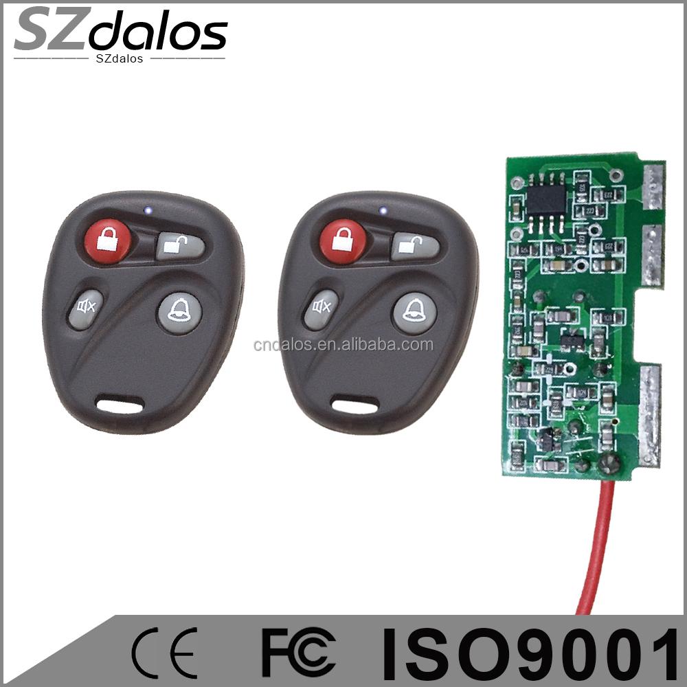 DC12V 1CH Relay Receiver RF Transmitter 433Mhz Wireless Remote Control Switch