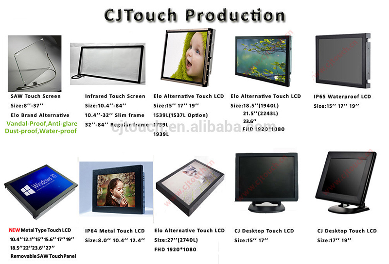"[8-32""] 3m touch screen overlay,23 inch SAW touch panel,23 Touch screen"