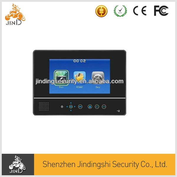 Factory Supply 7 Inch SD Card Slot Video Door Phone JD-QA06CP9B
