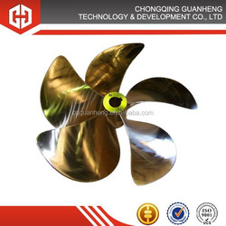 fast speed customized propeller for boat propulsion
