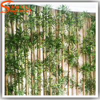 Wholesale China supplier artificia bamboo high quality plastic artificial bamboo