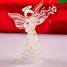Christmas decoration glass angel /glass angel