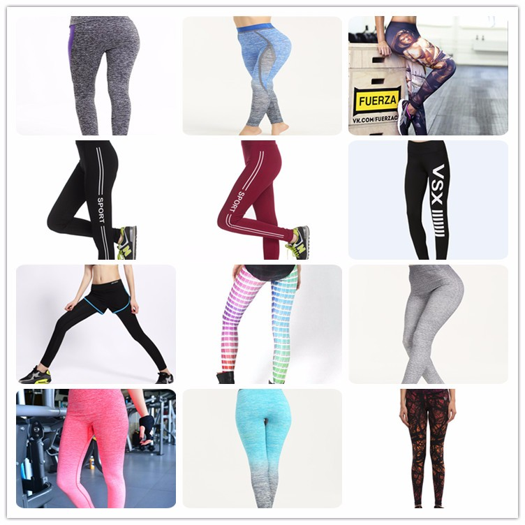 High Quality Women Yoga Fitness Leggings Sports Pants Wholesale