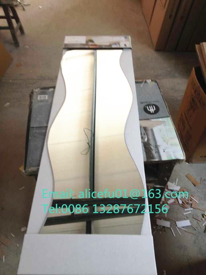 Hohe qualität unregelmäßig geformte spiegel/welle shaped spiegel/S ...
