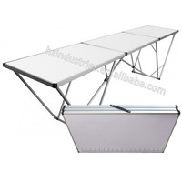 Cheap aluminum wallpaper work table factory