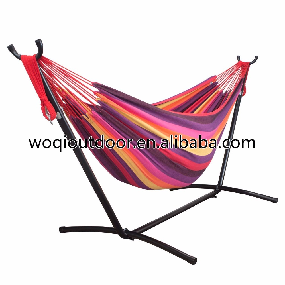 stand diy camping folding collapsible chair hammock foldable