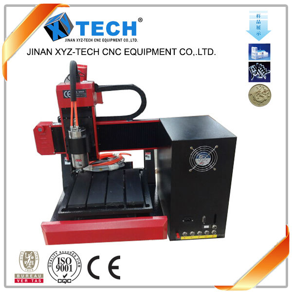 mini small used cnc router metal engraving machine 3030 with 800w water cooling spindle stepper motor