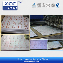 Factory Direct Adhesive 125khz/13.56mhz RFID Inlay for Cards