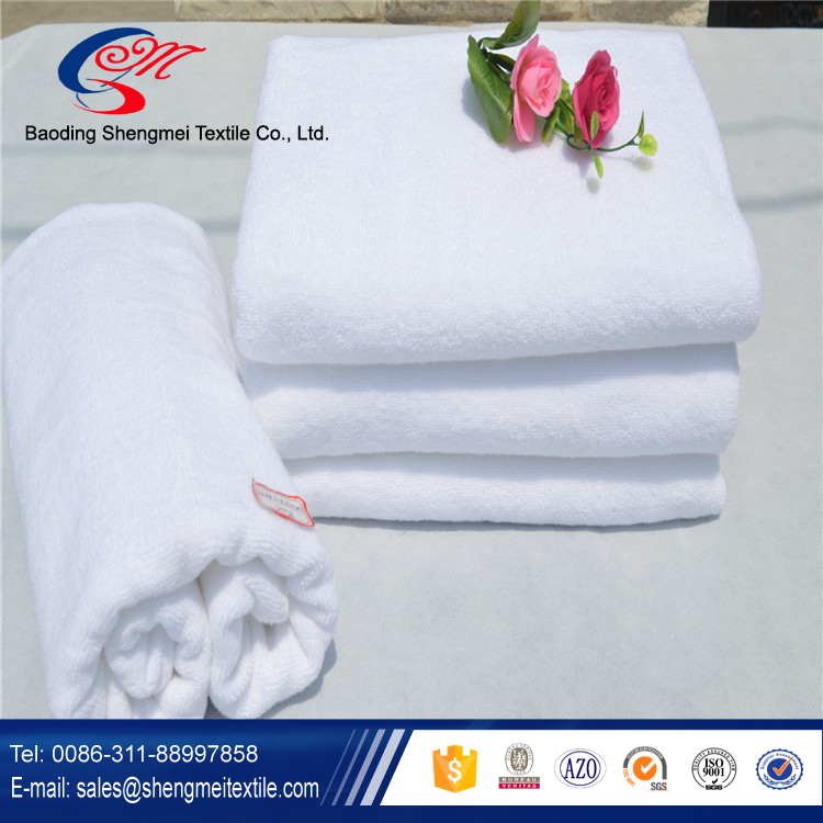 2016 Factory supply high quality 100% cotton hotel towels with the best quality in China