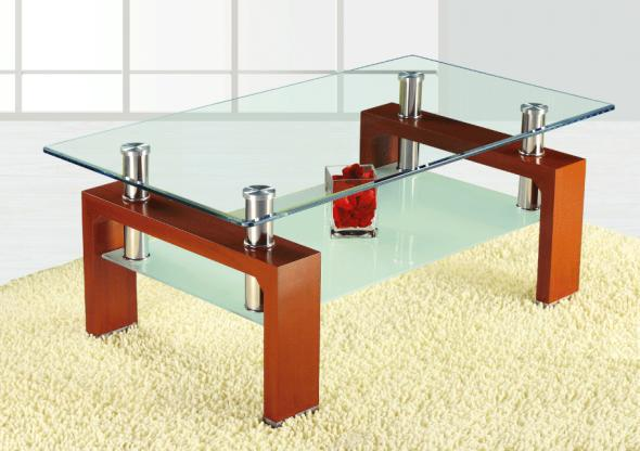 Perfect Living Room Furniture Center Table Design/coffee Table Tempered Glass  Material Top