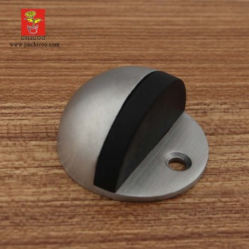 Stainless Steel Glass Door Stop Floor Mount Dome Door Stops