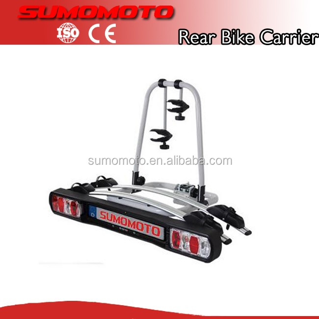 Hitch bike carrier, Car Rear Bike Carrier for SUV, bike carrier with lock and turn light