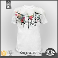 softextile Best quality body full printed rock music band t shirts best color combination new modish rock music band t shirts