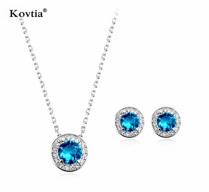 2016 Christmas jewelry gifts white gold necklace yellow sapphire lot of costume jewelry cheap