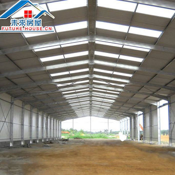 Low Cost  Steel Structure  Warehouse / Prefab Warehouse /Workshop/ Steel   Warehouse