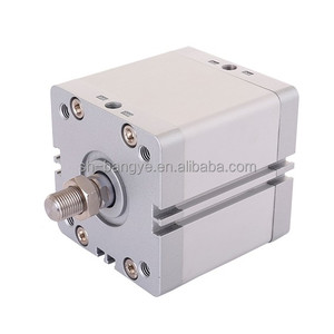 ISO 21287 standard double acting or single acting compact air pneumatic cylinder ADN 12-125MM