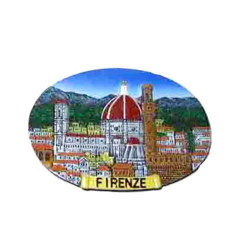 Custom polystone fridge magnet cities polyresin fridge magnets