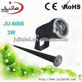 Ju 6006 3w Outdoor Spotlight 3pcs 1w Ed Grow Light