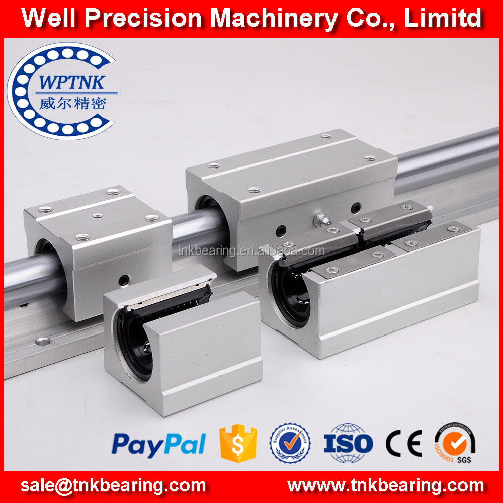 High quality linear motion guide rail round linear guideway sbr12 for CNC Router