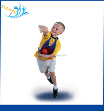 Sports Vest Target Game,Target Dodgeball ,Soft Fun Ball Garden Game ,1 Vest 3 Balls