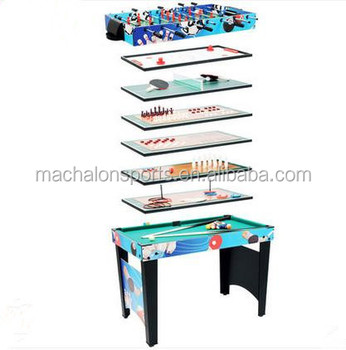 12 In 1Multi Game Table Combo Game Table Game Centre Table Foosball Billard  ,airhockey ,