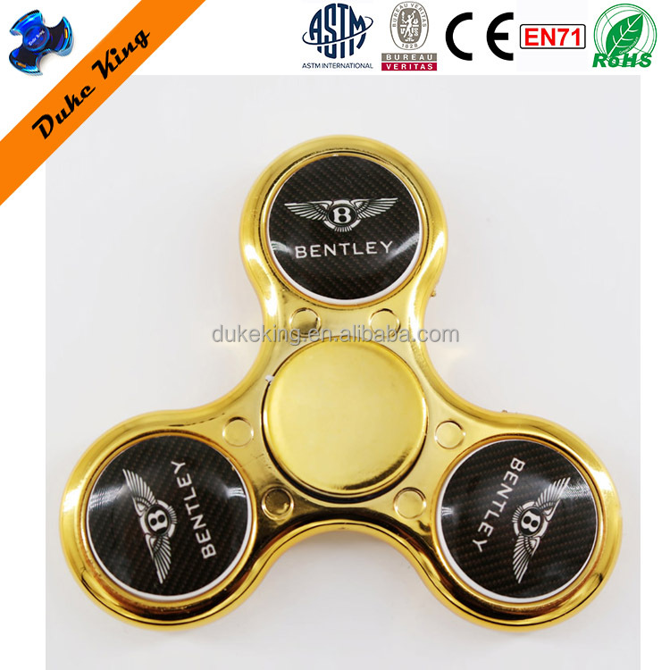 Customized Fidget Spinner With Logo Printed Custom Spinner