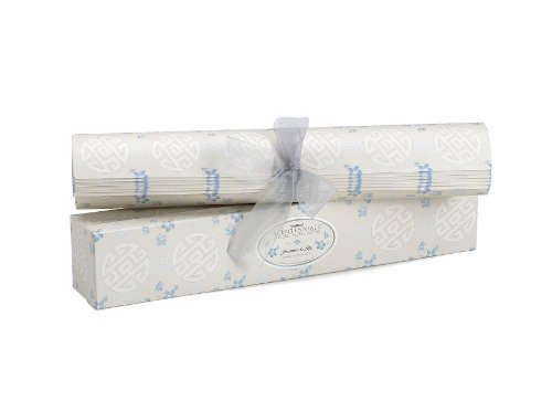 "Scentennials JASMINE & LILY (6 SHEETS) Scented Fragrant Shelf & Drawer Liners 16.5"" x 22"" - Great for Dresser, Kitchen, Bathroom, Vanity & Linen Closet"