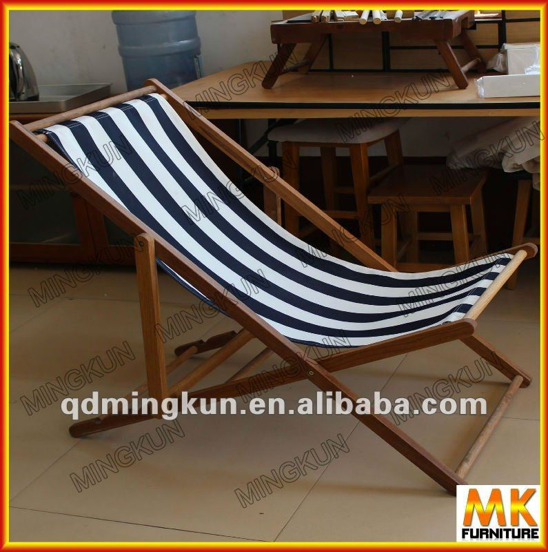 wooden foldable lying chair