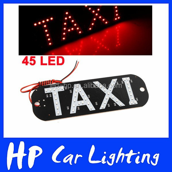 Wasserdichtes Design Kennzeichenbeleuchtung LED Taxi Top Light Taxi Board Light