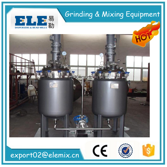 500L/1000L/1500L Stainless steel electrical heating/stainless steel chemical jacket reactor