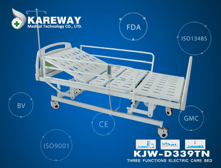 China Supplier Three Functions Electric Hospital Medical Bed Price ...