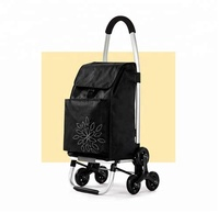 cheap price shopping cart with bag , top brands trolley luggage bags shopping cart with 6 wheels