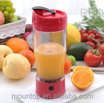 China factory supply water infusion pitcher, portable shaker bottle built in battery travel mug