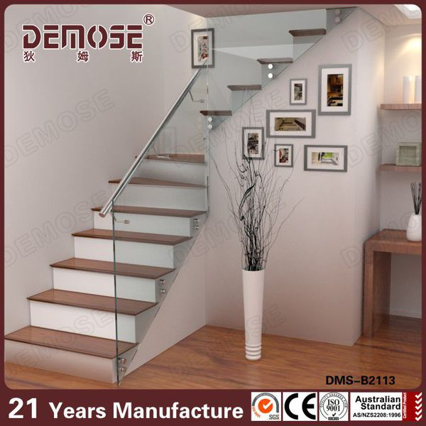 Stair Glass Railing Prices / Indoor Stair Railings For Indoor Stairs Price