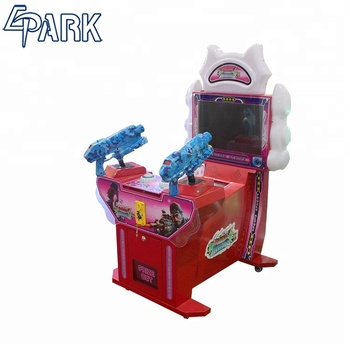 Frozen Heroes Electric Shooting Arcade Game Machine Kids ...