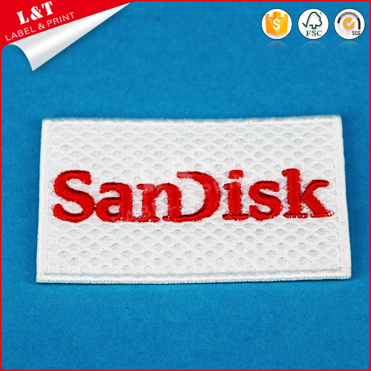 Fast Delivery Embroidery Letters Iron On Sports Patches Label For Jeans