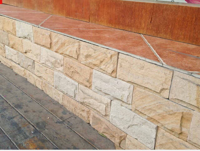 Factory Directly Stone Wall Cladding Mushroom Stone Exterior Siding