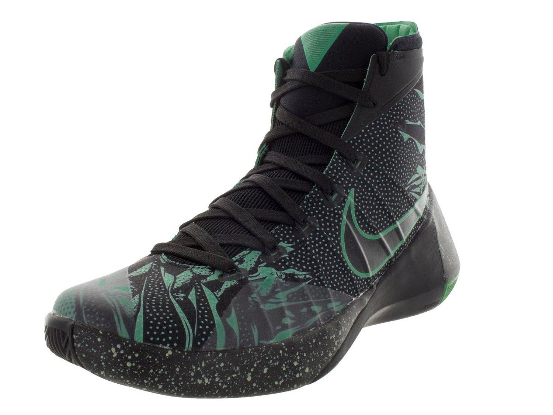 91863be55df Get Quotations · Nike Men s Hyperdunk 2015 Premium Basketball Shoe Black Anthracite Green  Glow Size 10 M