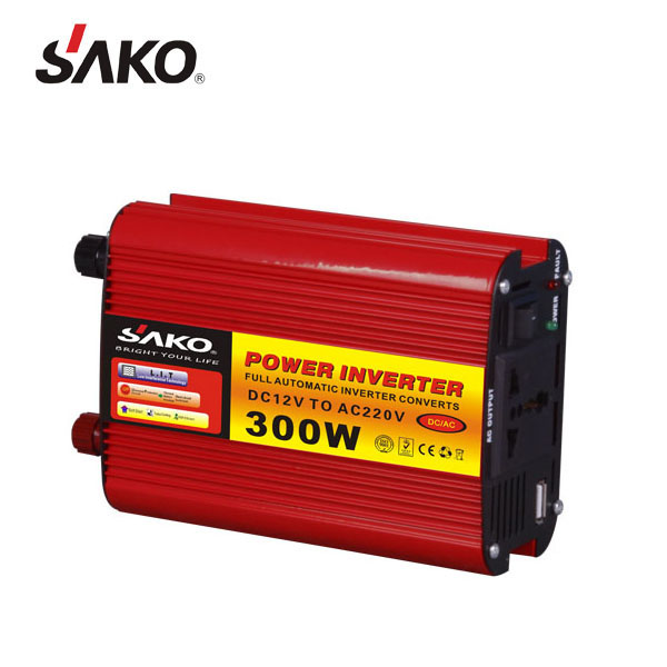 Casa Usata Onda Sinusoidale Modificata Power Inverter 300 w