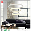 Hot Sale Product Modern Simplicity Style 115W White Color Frame 3 Round Shape LED Luminaire Chandelier
