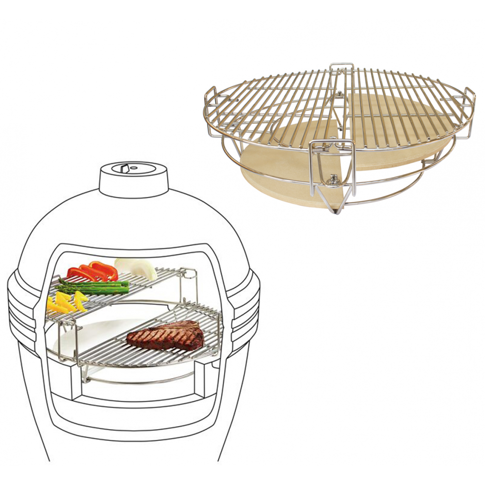 Divide-Conquer-Cooking-System-Kamado-Accessories