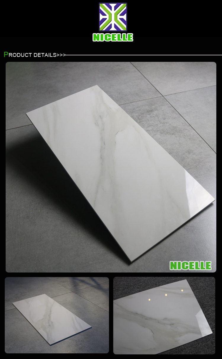 Thin marble tiles ceramic porcelain wall tiles 30x60cm