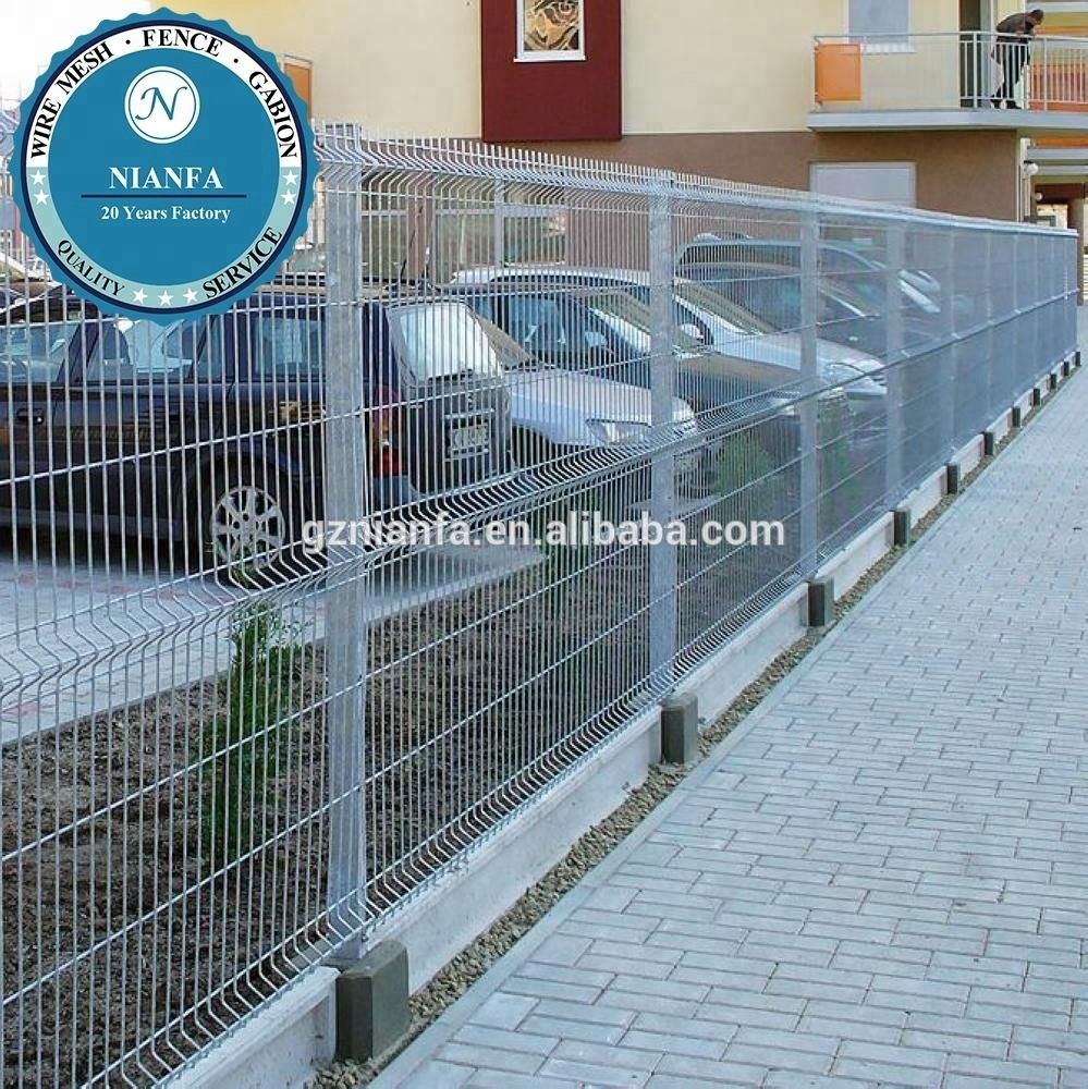 Angle Bent Wire Mesh Fence, Angle Bent Wire Mesh Fence Suppliers and ...