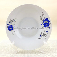 daily use white ceramic food plate porcelain