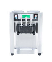 Stainless Steel Ice Cream Machine With Prices Commercial Restaurant Used Soft Top Ice Cream Machine