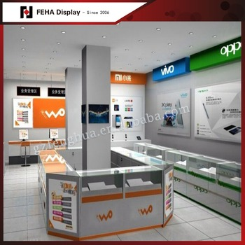Mobile Shop Decoration Ideas Cell Phone Repair Kiosk