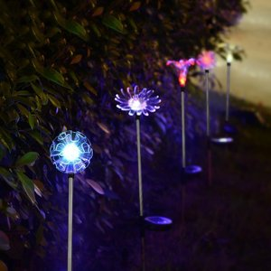 Solar garden lamp led powered path garden lighting outdoor solar led lights for crafts