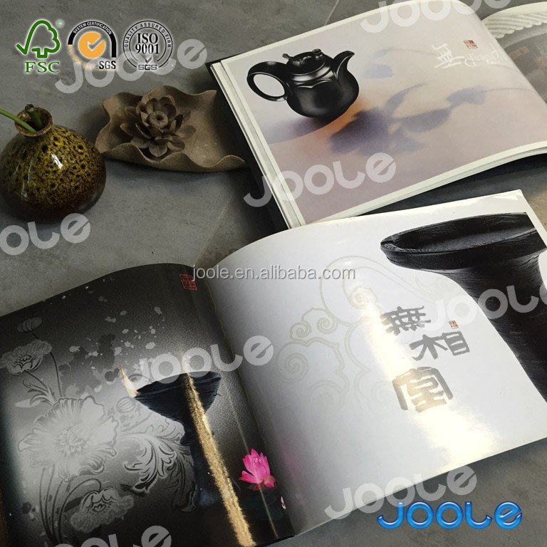 High quality luxury products catalogue lookbook with glossy vanishing or lamination