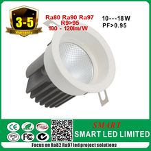 Brand LED driver Led Spot 10w Ceiling Downlight, 27~42v, 270ma with white color
